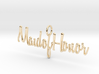 Maid of Honor Necklace Pendant 3d printed