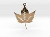 Forest Leaf Pendant 3d printed