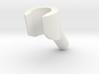 minifigure hand angled 3d printed