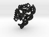 LANA with bridges zbrush decimated 3d printed