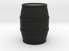 Round Barrel Game Piece 3d printed