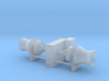 Anchor Winch 1/200 fits Harbor Tug 3d printed