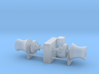 Anchor Winch 1/220 Z fits Harbor Tug 3d printed
