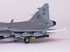 JAS-39 SAAB Gripen SAAF Weapon Pack 3d printed SAAF JAS-39 Gripen Weapon Pack (1/72)