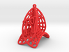 Personalised Voronoi Catalan Curve Earring (001) 3d printed Personalised Voronoi Catalan Curve Earring (001)