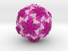 Rhinovirus Serotype 3 3d printed