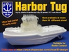 Harbor Tug Hull 1:75 V40 Feature Complete 3d printed