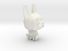 French Bulldog Cartoon Character 3d printed