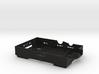 Raspberry Pi B case - bottom 3d printed