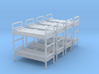 Bunk bed 01.S Scale (1:64) 3d printed