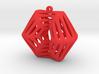 Voronoi Klein Earring (002) 3d printed Voronoi Klein Earring (002)