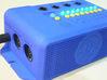 MISWINO Case 3d printed Front View with Midi and Power Plugs, Airholes and Large Logo (Photo)