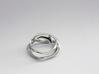 Terpsichore ring 3d printed