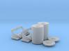 1/20 PT Boat Deep Charge w Rack Set001 3d printed