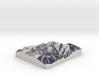 Powder Mountain, Utah, USA, 1:25000 3d printed