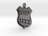 Police Badge Pendant - DO NOT ORDER HERE 3d printed