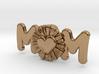 Daisy Mom Heart Pendant 3d printed