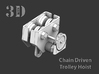 CHAIN DRIVEN TROLLEY 3d printed