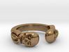 Joker's Double-Skull Ring - Metals 3d printed