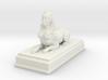 Sphinx Statue (Plastics) 10cm 3d printed