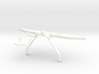 Rear bumper with towbar and step D90 D110 Team Raf 3d printed