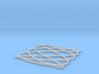 Lissajous coaster 3:5 pi/2 3d printed