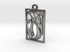 Personalised Voronoi Rectangular Pendant 3d printed Personalised Voronoi Rectangular Pendant