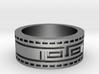 Aztec Celtic Ring  3d printed