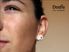 Dodis_earring 3d printed