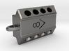 V8 engine keychain 3d printed