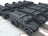 1/700 Russian Ural Typhoon 63095 MRAP x10 3d printed 3d render showing product detail