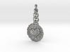 Daisy Heart Keychain Charm 3d printed