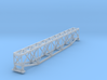 Truss Bridge Z Scale 3d printed Truss Bridge Single track Z scale