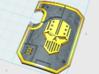 5x Iron Legion: Terminator Thunder Shield 3d printed