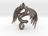 Dragon pendant 3d printed
