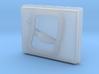 Land Rover Defender Slotted Style Rear Door Handle 3d printed