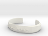 Bracelet Basic small 3d printed
