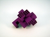 Piston Burr Puzzle 3d printed Partial Solve