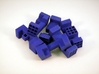 Piston Burr Puzzle 3d printed Pile of Pieces