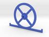 V1.6 Setup Wheel with toe plates  3d printed
