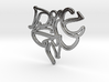 Peace Earring (Harrington Font) 3d printed Peace Earring (Harrington Font)