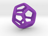 Dodecahedron Platonic Solid  3d printed