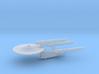 3788 Scale Franz Joseph Federation Dreadnought WEM 3d printed