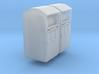 2 Altkleidercontainer (N 1:160) 3d printed