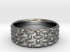 Abstract Weave Pattern Ring 3d printed