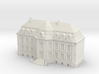 1:350 Chaeteau Roucourt Main Building 3d printed