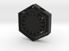 Star Wars First Order Necklace 3d printed