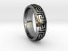 Greek Pattern Ring 01 3d printed