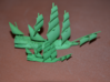 Flying Dutchman 3d printed Small and large in ghostly green