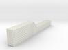 Brick Building Side Chimney N Scale 3d printed